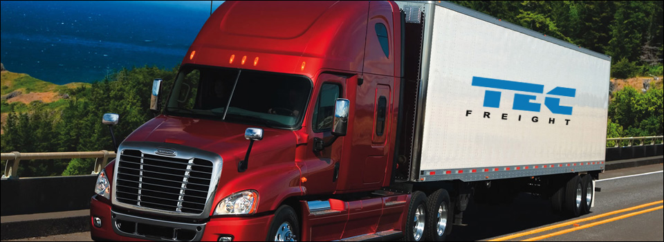 TEC Freight Lines provides full service transportation solutions that are custom tailored to meet the needs of our clients.